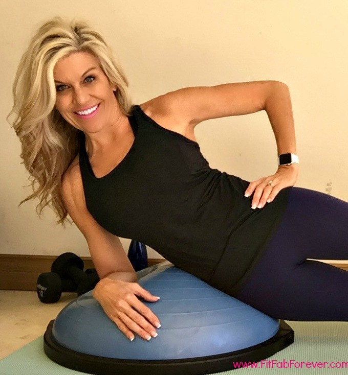 Flat Belly & Strong Core with the Bosu Ball