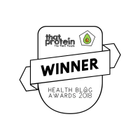 Health Blog Awards 2018 logo