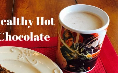 High Protein Healthy Hot Chocolate
