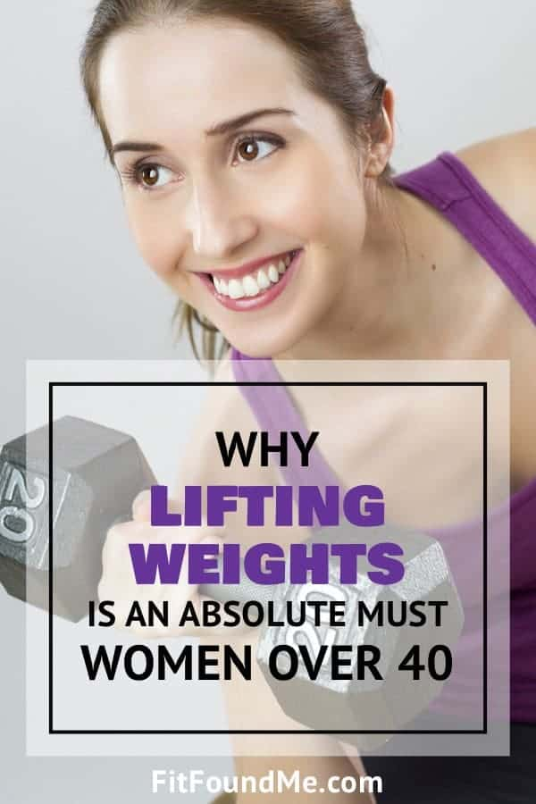 weight lifting for women over 40