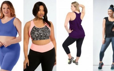 A Collection of the Most Stylish Plus Size Activewear
