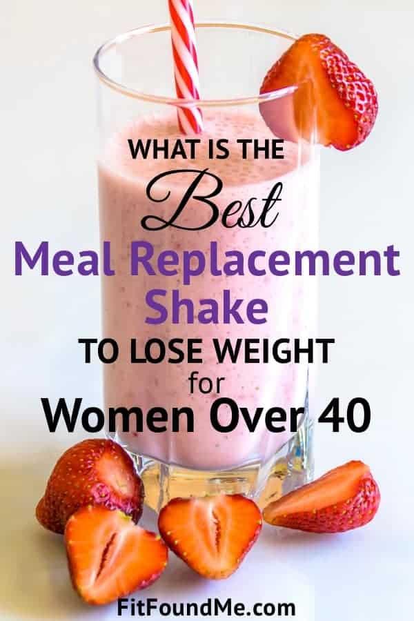 strawberry weight loss shakes with fresh strawberries beside glass