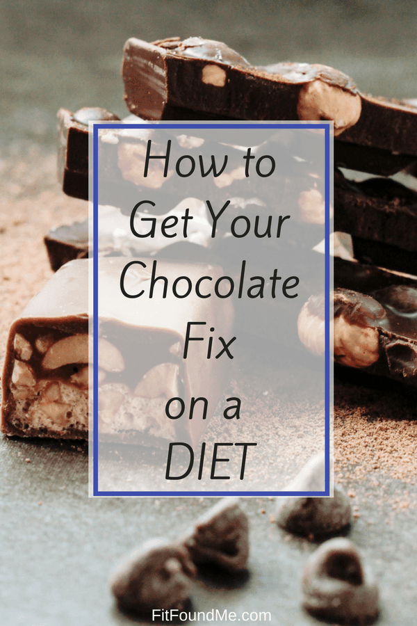 chocolate fix on a diet