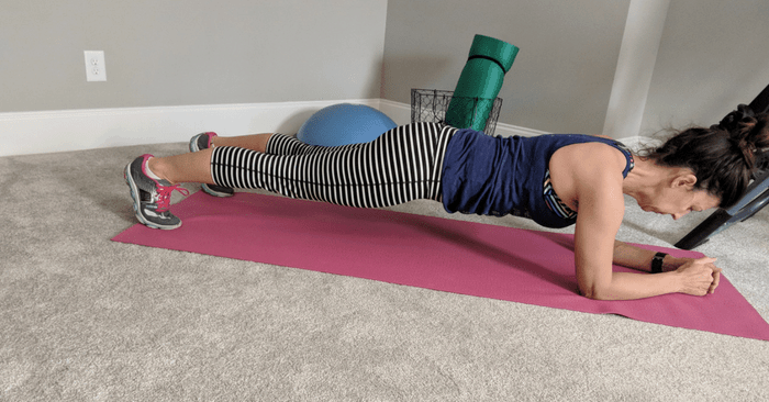 Losing Belly Fat after 40 with this Popular Plank Challenge