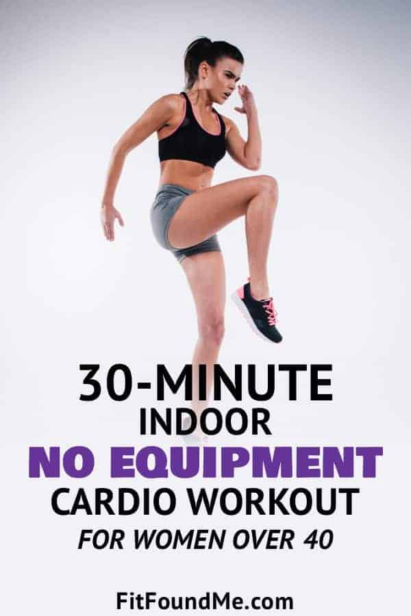 Cardio workouts for women to burn fat, tone muscles and lose weight fast. Cardio burns fat, no equipment needed.
