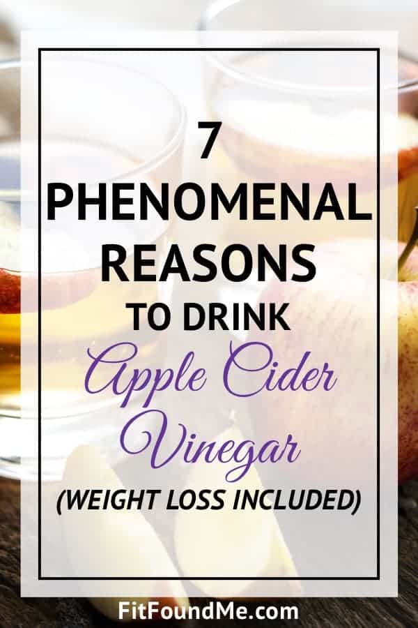 7 reasons to drink apple cider vinegar to lose weight