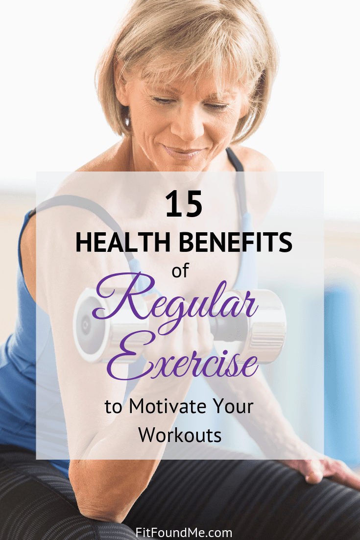 motivation and benefits of regular exercise