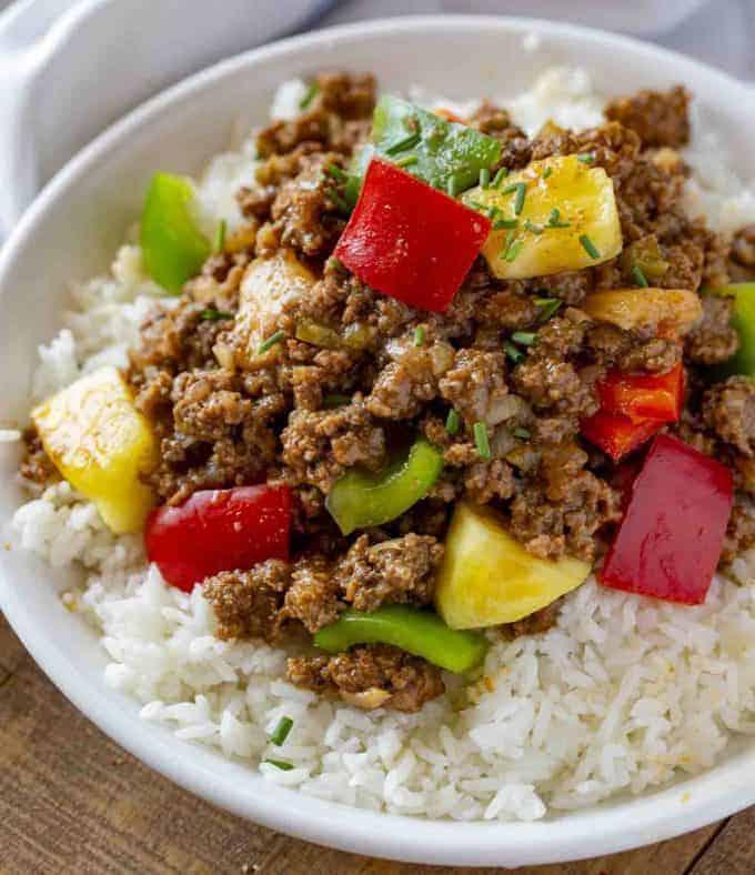 hawaiian ground beef recipe