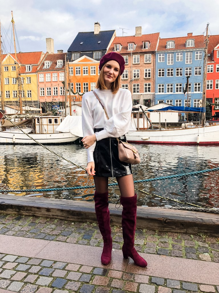 A FRENCH LOOK IN COPENHAGEN WITH WONDERS SHOES
