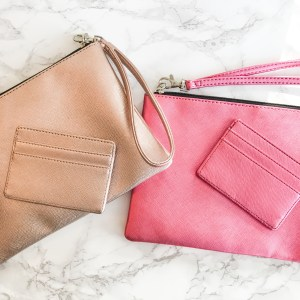 Essentials Clutch - Blush Pink