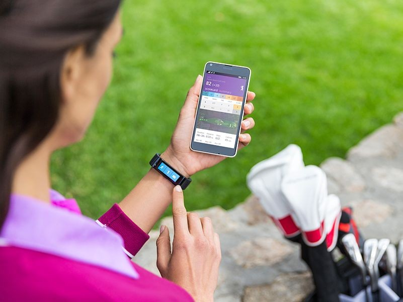 Microsoft Band Golf