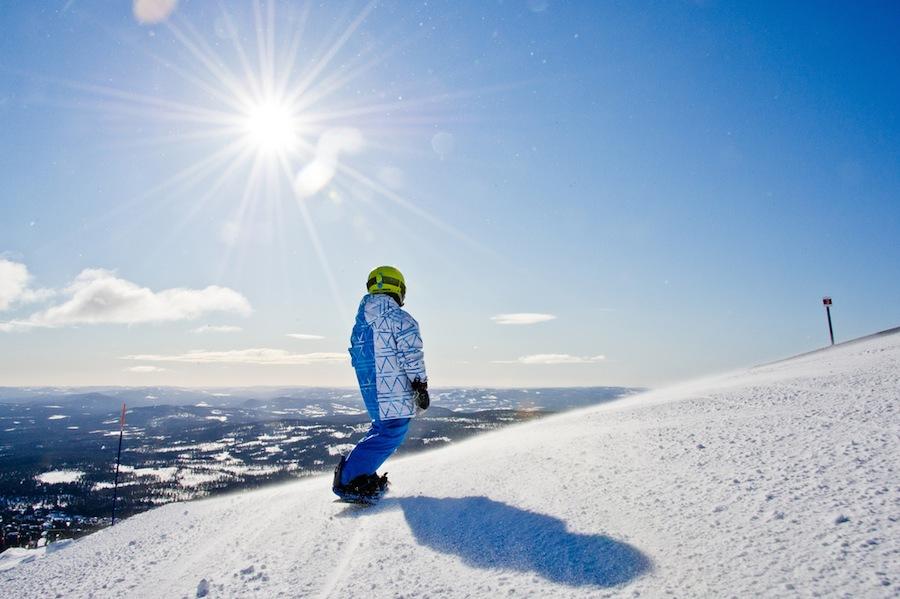 snowboardactie vastleggen