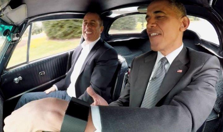 Obama met Fitbit