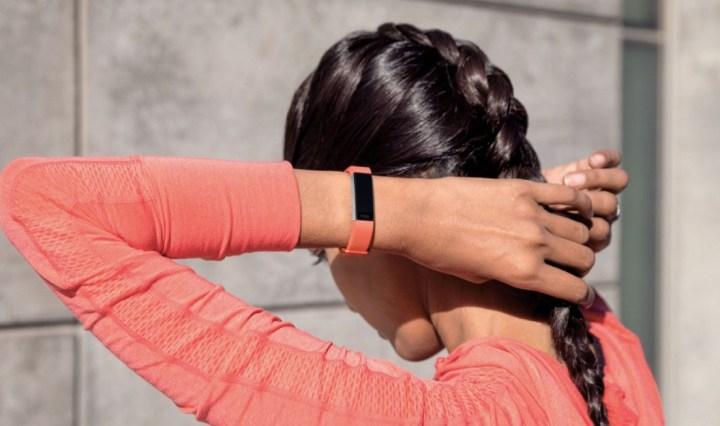 Fitbit Alta HR roze
