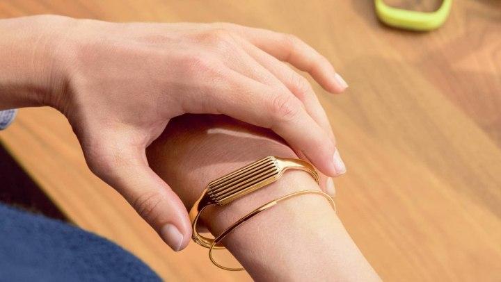 Fitbit Flex 2 bandje goud