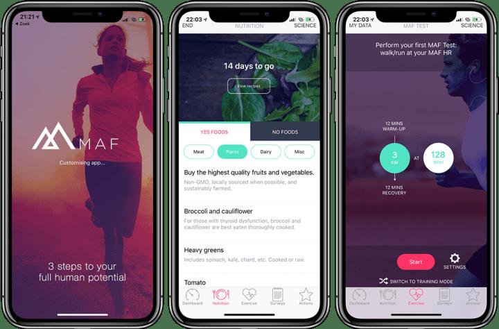 MAF App lifestyle-advies
