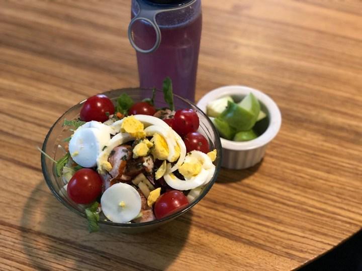 Sportvasten dag 10: lunch