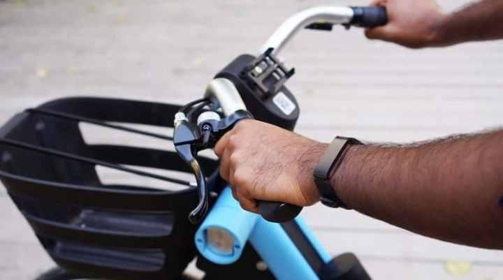 Withings Pulse HR fietsen