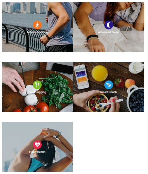 Jawbone UP3 feature