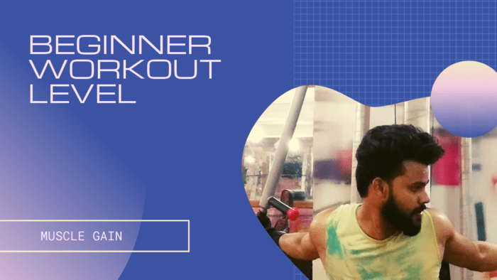 Beginner Workout Plan-Muscle Gain