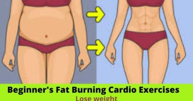 Beginner's Fat Burning Cardio Exercises to Lose Weight