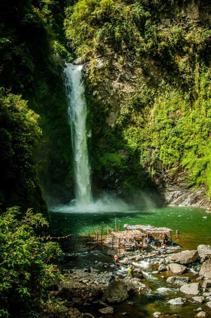 waterfall batad rice terraces