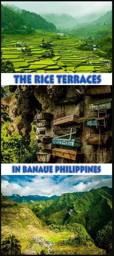 Hiking the rice terraces in banaue philippines