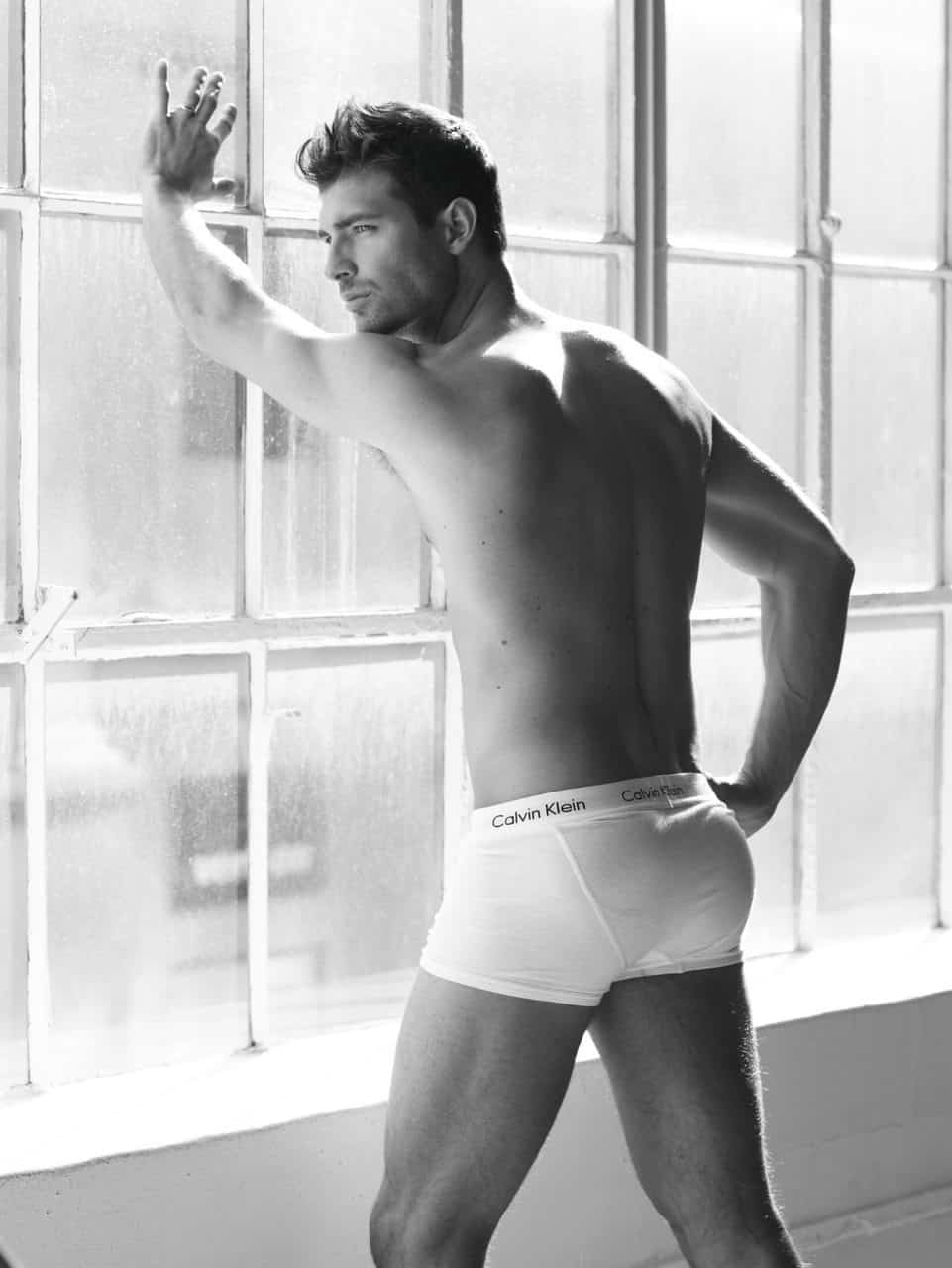 Calvin Klein Underwear Model  Fit Males Shirtless  Naked-7939