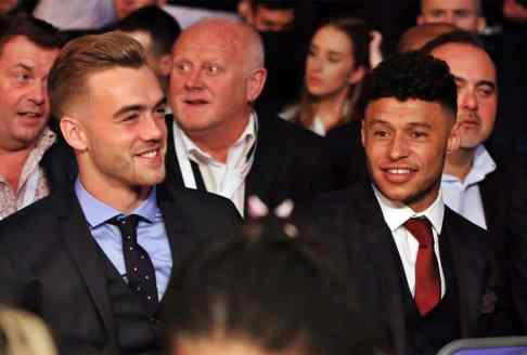 Arsenal Footballer Calum Chambers Including Shirtless image