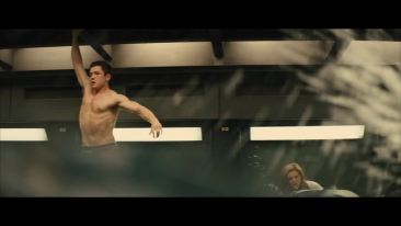 Taron Egerton   Shirtless & Barefoot in Kingsman image