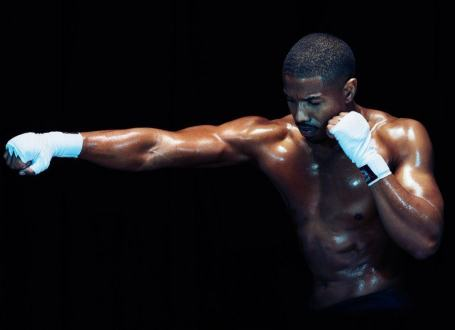 Michael B. Jordan Shirtless Creed image