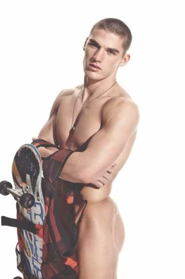 Kerry Degman naked model