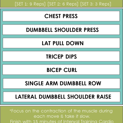WEIGHT TRAINING WORKOUT #4 [Super Slow Sets]
