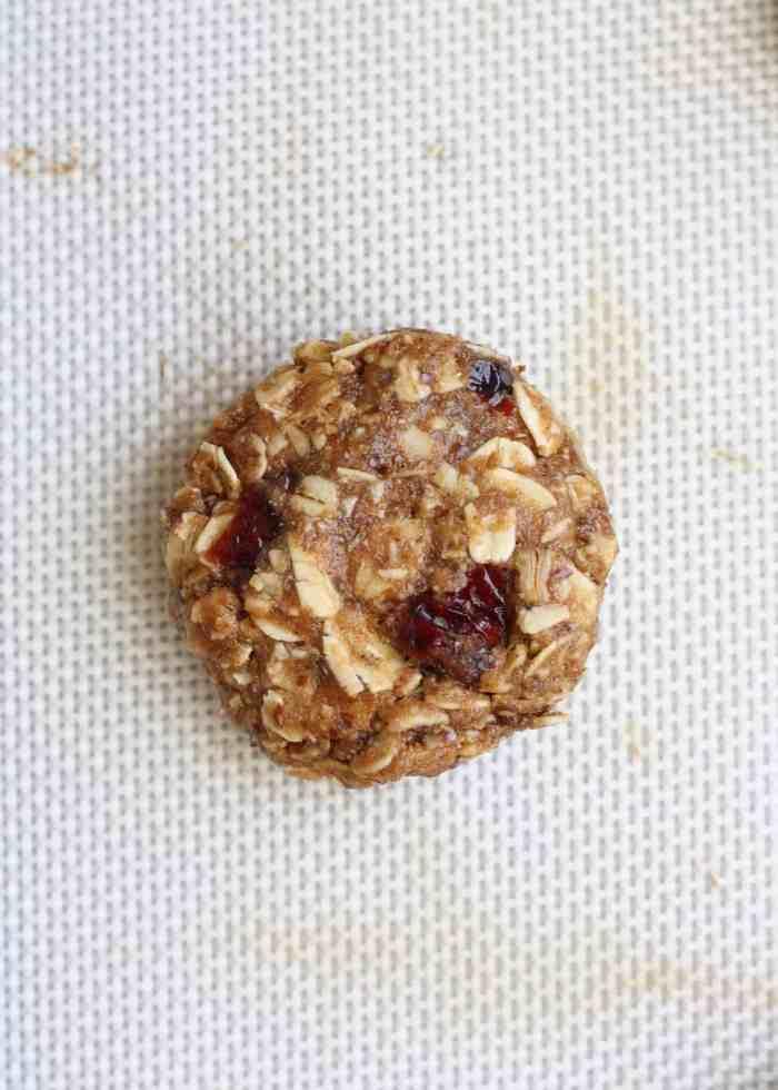 Whole Wheat Oatmeal Berry Cookies