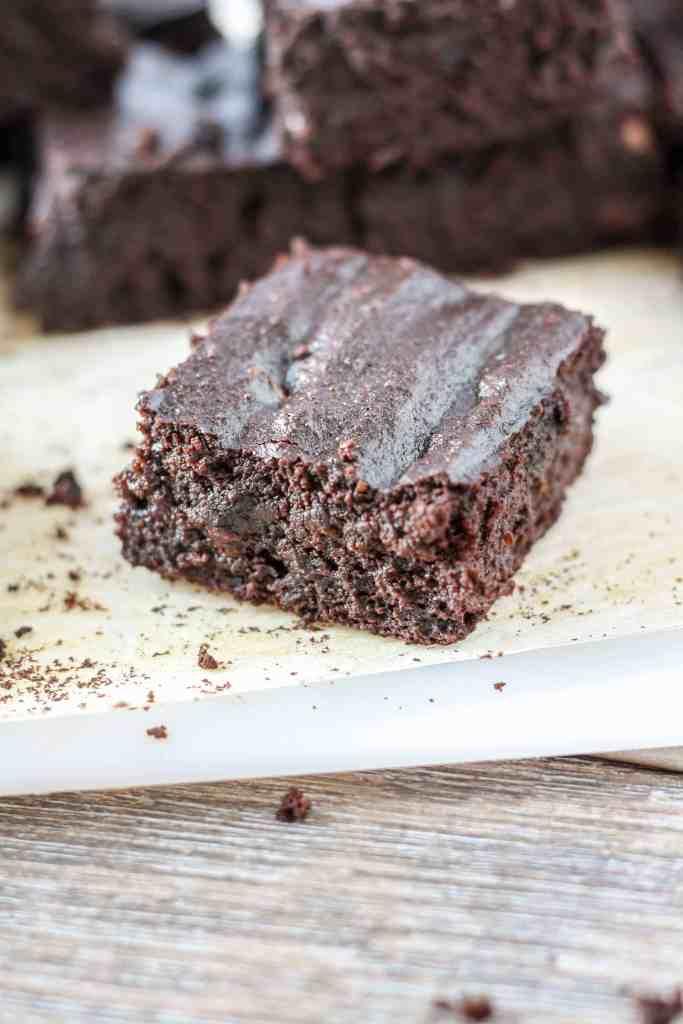 Gluten-Free Beet Brownies [Fit Mitten Kitchen]