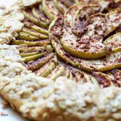 Whole Wheat Chai Spiced Apple Galette