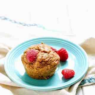 Whole Wheat Raspberry Pumpkin Muffins-13