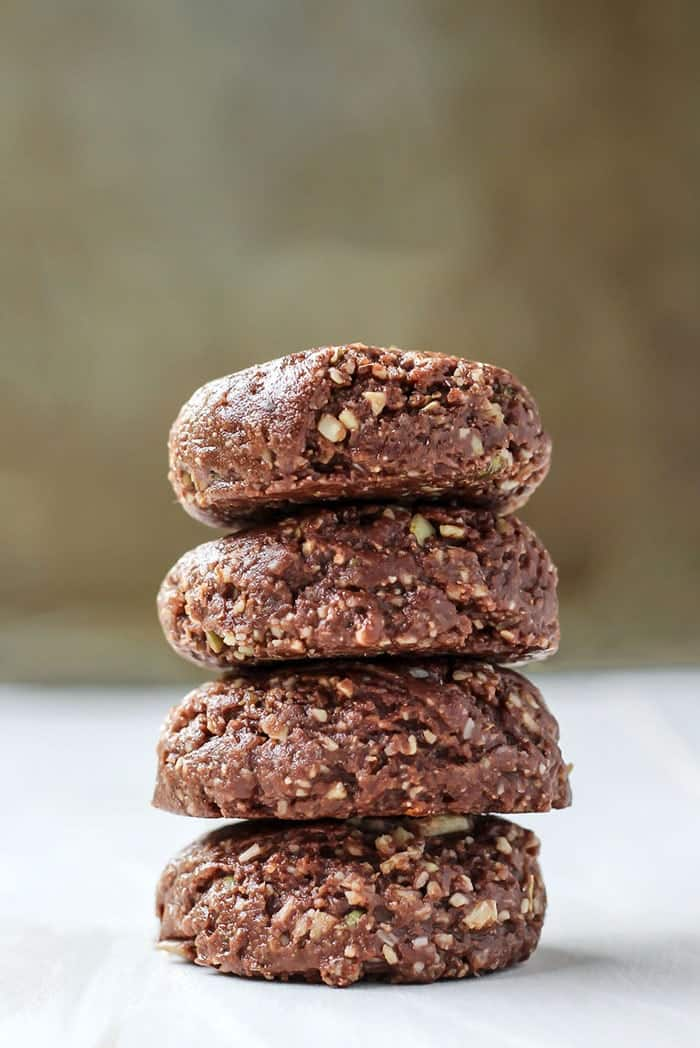 Grain-Free No-Bake Cookies