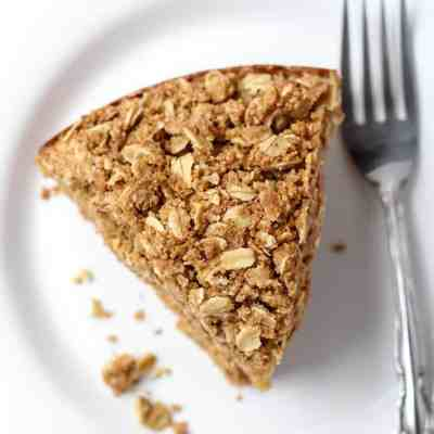 Easy Gluten-Free Coffee Cake with Oat Crumble [ dairy-free ]