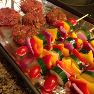Mom's Summer Cheeseburgers - 21 Day Fix Approved