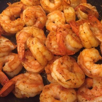 Cajun Shrimp Fettuccini Alfredo