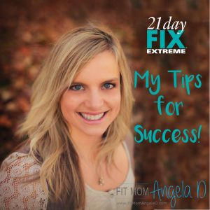 21 Day Fix Extreme Tips