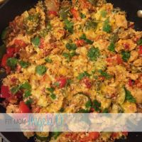 Healthy Ranch Chicken Skillet