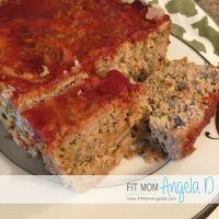 Savory Zucchini Turkey Meatloaf