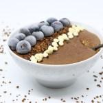 Porridge espresso e cioccolato bianco