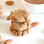 Cookies al burro di mandorle
