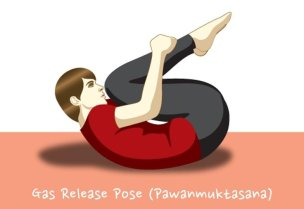 Yoga Poses For Lower Back Pain Relief #3 Gas Release Pose (Pawanmuktasana)