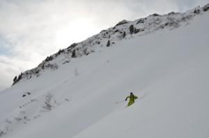 offpiste skiløb st. Anton