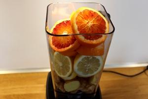 Ingefærshot - Ingefær, citroner, appelsiner