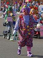 Clown fertig